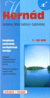 hernád vízitúra térkép