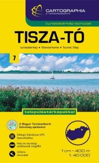 tisza-tó vízitúra térkép